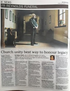 Irish news funeral story